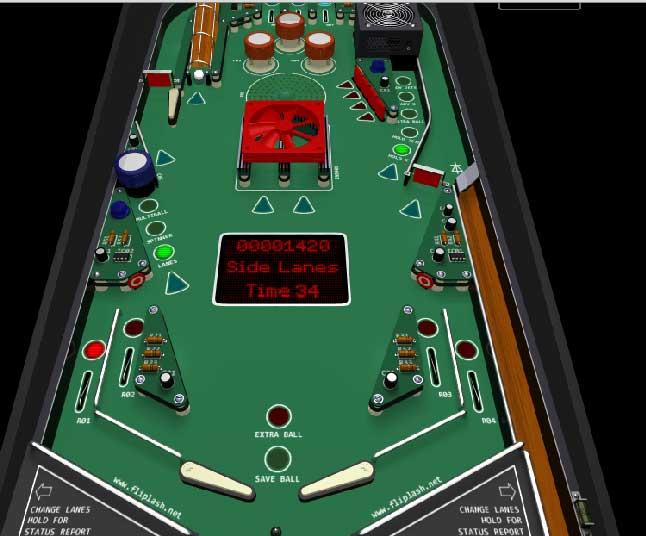 Игра Стандартный пинбол онлайн