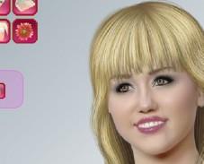 Игра Ханна Монтана Макияж онлайн