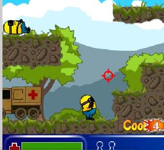 Игра Спасти миньонов онлайн