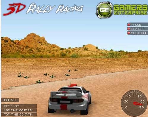 Игра 3D Ралли онлайн