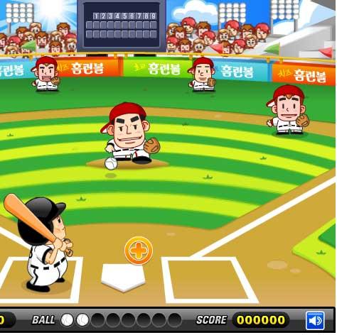 Игра Бейсбольный рай онлайн