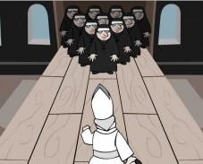 Игра Боулинг в монастыре онлайн