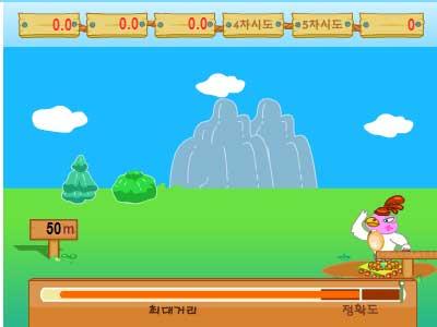Игра Куриный бейсбол онлайн