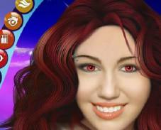 Игра Майли Сайрус макияж онлайн