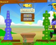 Игра Математическая башенка онлайн