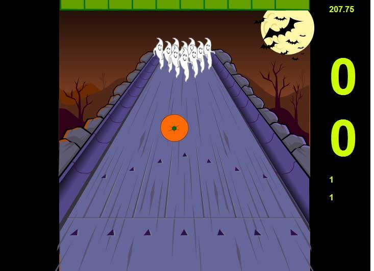 Игра Хэллоуин боулинг онлайн