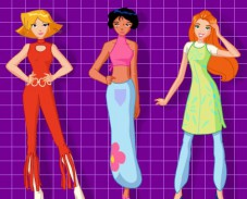 Игра Одеваем Тотали Спайс онлайн