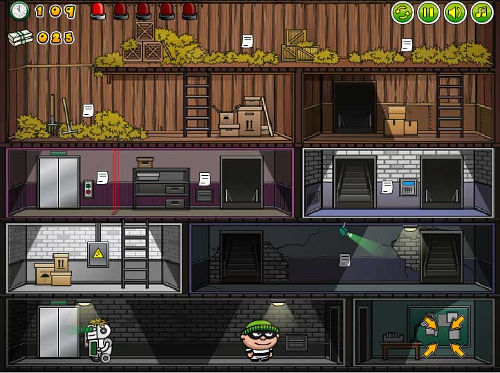 Игра Bob the Robber онлайн