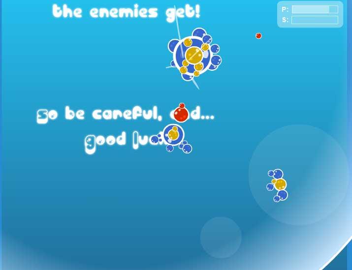 Игра Bubble Tanks 2 онлайн