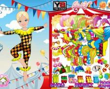 Игра Адель звезда цирка онлайн