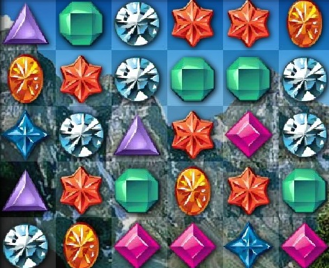 Игра В поисках бриллиантов онлайн