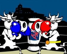Игра Коровий бокс онлайн