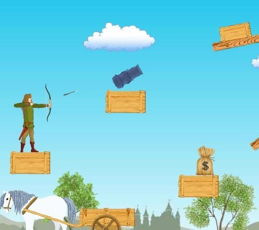 Игра Робин Гуд и сокровища онлайн