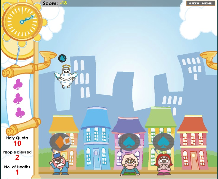 Игра Святая корова - играй онлайн