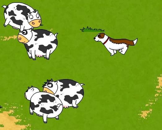 Игра Хрюшка корова онлайн