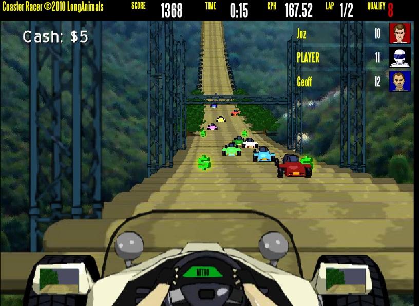 Игра Coaster Racer онлайн
