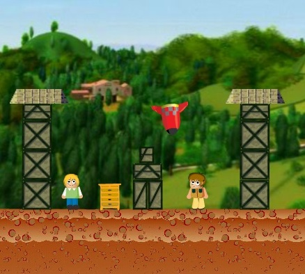 Игра Destroy The Village онлайн
