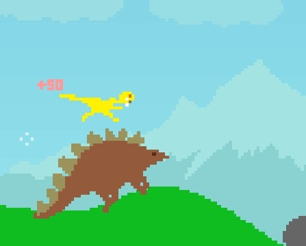 Игра Dino Run онлайн