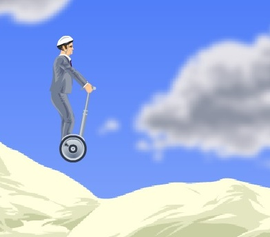 Игра Happy Wheels онлайн