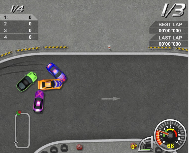 Игра King of Drift онлайн