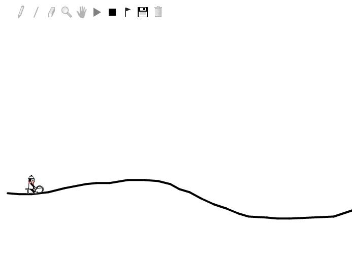 Игра Line Rider онлайн