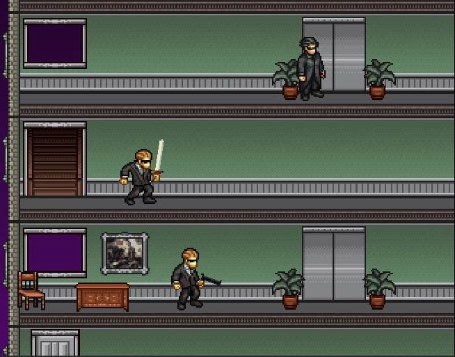 Игра Matrix Rampage онлайн
