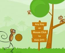 Игра Monkey Kick Off онлайн