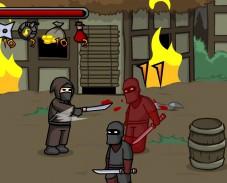 Игра Ninja Brawl онлайн