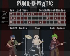 Игра Punk-o-matic онлайн