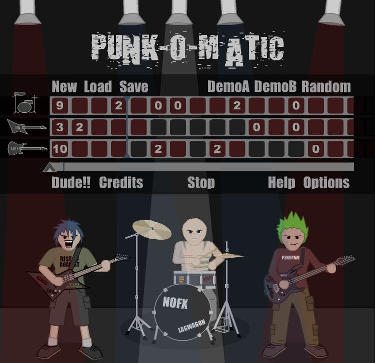 Игра Punk-o-matic онлайн