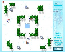 Игра Snowball Fight онлайн