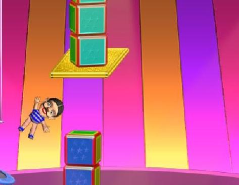 Игра Акробаты на арене цирка онлайн