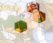 Игра Астерикс и Обеликс школа пазл онлайн