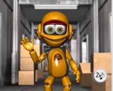 Игра Говорящий робот онлайн