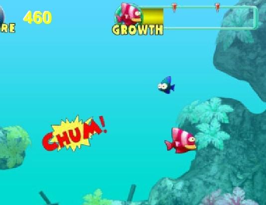 Игра Голодная рыбка онлайн