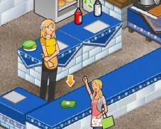 Игра Закусочная с бургерами 4 онлайн