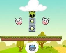 Игра Коровы против инопланетян онлайн