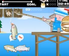 Игра Ловля форели онлайн