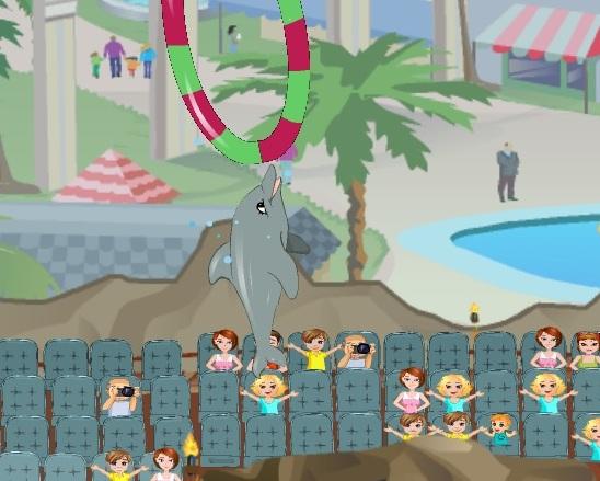 Игра Моё шоу дельфинов 2 онлайн