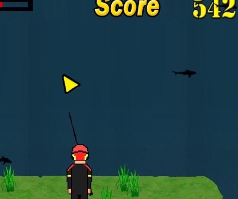 Игра Охота на акул онлайн
