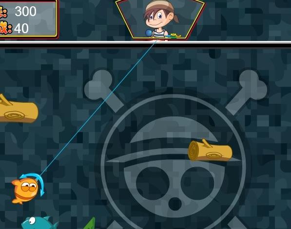 Игра Пираты ловят рыбу онлайн
