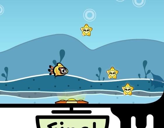 Игра Подводная прогулка онлайн