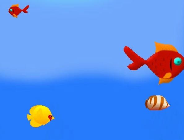 Игра Приключения Маленькой Рыбки онлайн