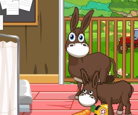 Игра Симпатичные Лошади больница онлайн
