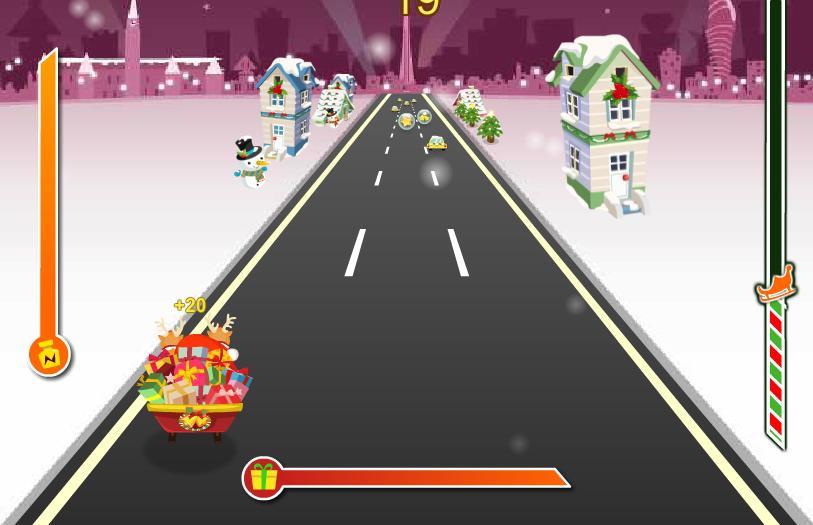 Игра Сумасшедший Дед Мороз онлайн