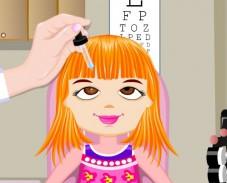 Игра У офтальмолога онлайн