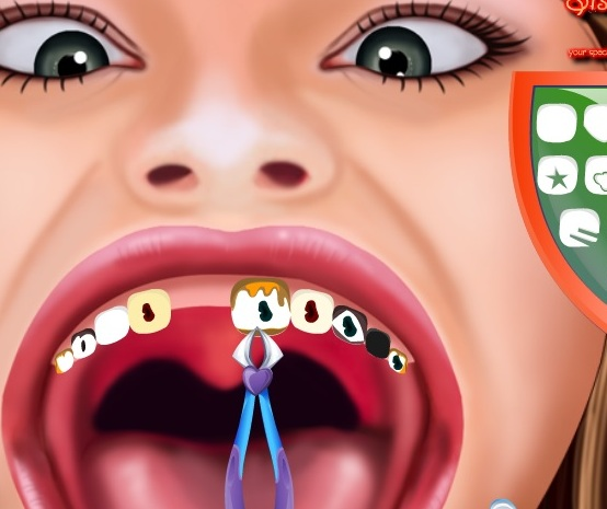 Игра Ханна Монтана у зубного онлайн