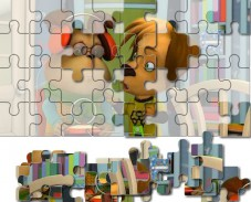 Игра Барбоскины: самый классный пазл онлайн