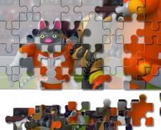 Игра  Барбоскины: веселый пазл онлайн