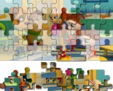 Игра Барбоскины: пазл вместе онлайн